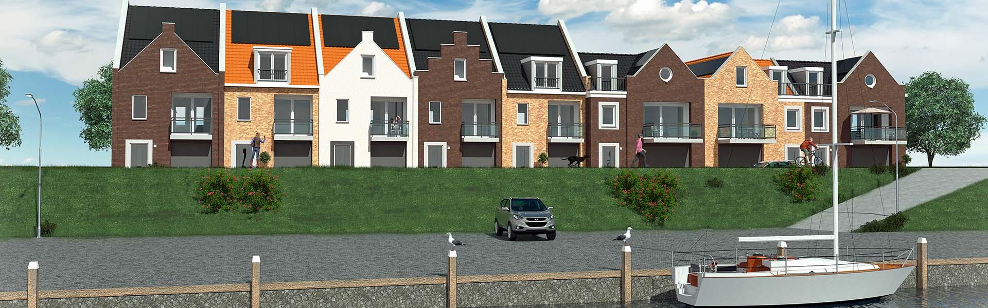 Nieuwbouwproject Sint Philipsland Pakuus